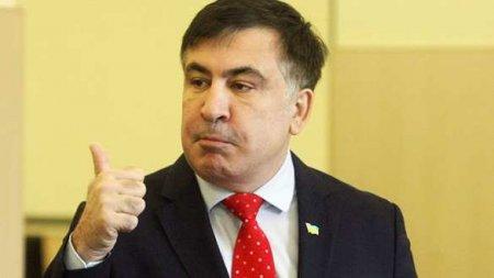 Саакашвили рассказал, какразвлекался сТрампом (ВИДЕО)
