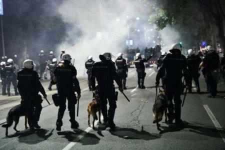 ВСербии «украинских наёмников» обвинили ворганизации антикарантинных протестов вБелграде