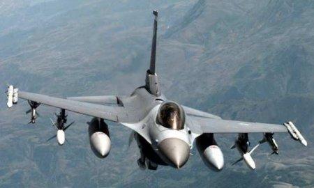 Разбился истребитель F-16 ВВС США