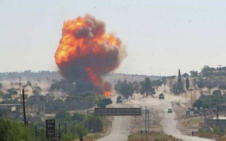 СРОЧНО: Стало известно, кто подорвал колонну армий России и Турции — кадры нападения (ФОТО, ВИДЕО)