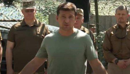 Зеленский на Донбассе рассказал, что возможные обстрелы — «это жизнь» (ВИДЕО)