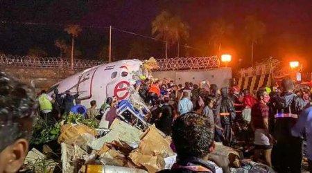 Лайнер из Дубая разбился при посадке в Индии, два десятка погибших (ФОТО, ВИДЕО)
