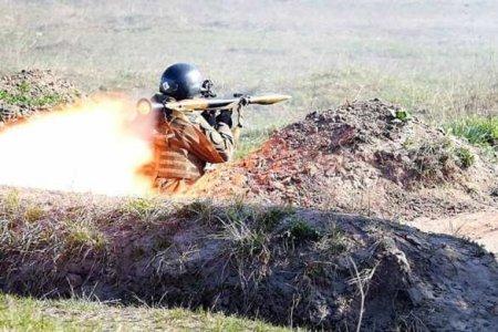 Подрыв на позициях ВСУ — Армия ДНР демонстрирует кадры (ВИДЕО)