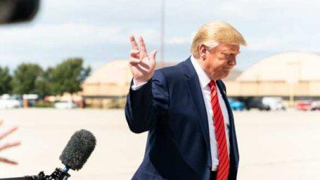 Трамп испугался неудобного вопроса исбежал спресс-конференции (ВИДЕО)