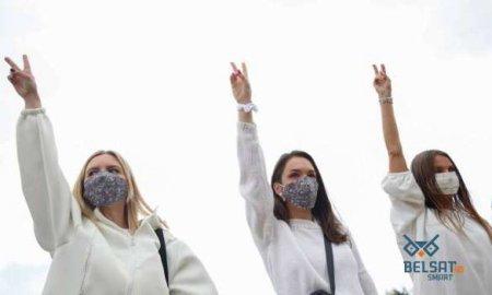 «Цепи солидарности» сковывают Белоруссию (ФОТО, ВИДЕО)