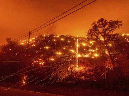 Сильнейшие пожары в Калифорнии: самое страшное ещё впереди