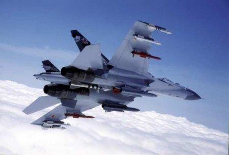 «Добро пожаловать отсюда» — Су-27 развернул натовские самолёты-разведчики от границы России(ВИДЕО)