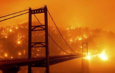 Конец света сегодня: пожары, бушующие в США, сопровождались знамением (ВИДЕО)