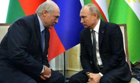 Путин иЛукашенко начали переговоры