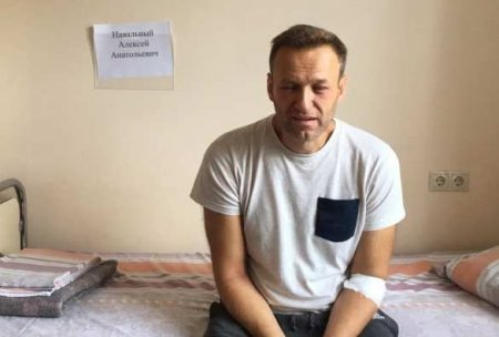 Первый пост Навального вInstagram — помогите эторазвидеть