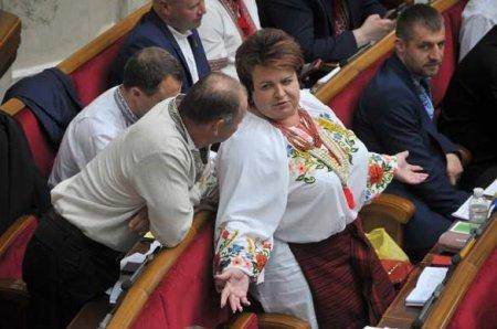 Депутат Рады, продвигающая семейные ценности, попалась наинтимной переписке всессионном зале (ФОТО)