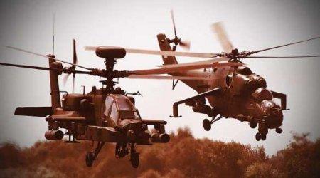 ВВС США атаковали? Как русские вертолёты разогнали «Апачи» в Сирии (ВИДЕО)