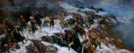 Прорыв, поразивший мир: Русский натиск в швейцарских Альпах (ФОТО)