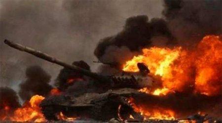 Бойня в Карабахе: сожжены 180 танков и БМП Азербайджана, 4000 солдат убиты и ранены (ВИДЕО)