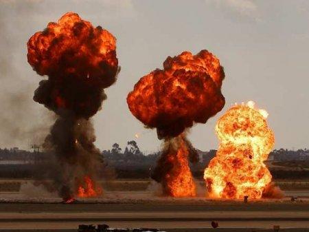 Серией взрывов уничтожена позиция ВСУ с техникой и вооружением (ВИДЕО)