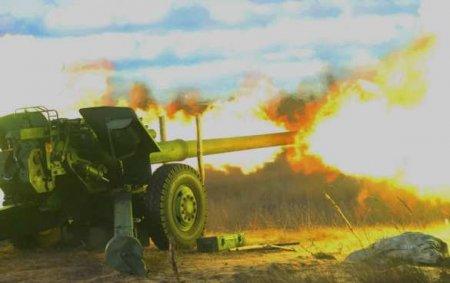 Море огня — Азербайджан уничтожил армянскую военную технику (ВИДЕО)