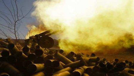 Колонна военной техники Азербайджана уничтожена наюжном направлении (ВИДЕО)
