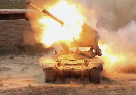 «Огненный смерч» в Карабахе: армия НКР уничтожила вражеский «Солнцепёк» (ВИДЕО)