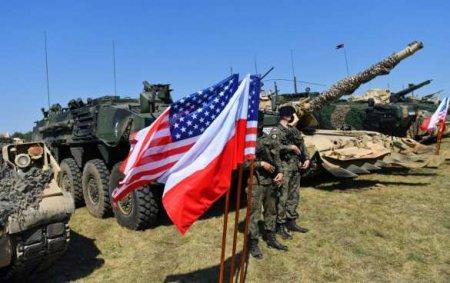 США создают мощный военный плацдарм у границ России и Белоруссии