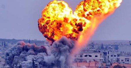 СРОЧНО: ВКС РФ устроили бойню в Сирии, бомбы влетели в толпу на вражеском объекте (ФОТО)