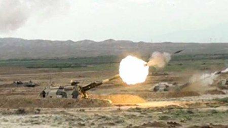 ВС Азербайджана нанесли удары по Степанакерту и Шуши (ВИДЕО)