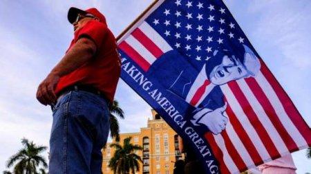 «Мы победили»: В США протестуют сторонники Трампа (+ВИДЕО)