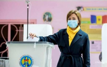 Санду заявила опобеде навыборах президента Молдавии