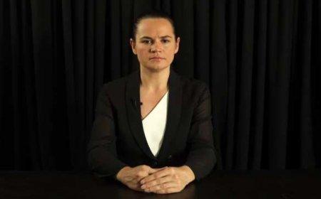 Тихановская призывает отключить Белоруссию от SWIFT
