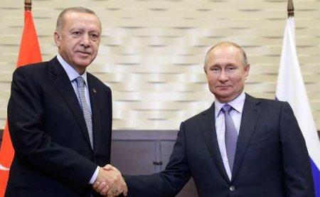«Зачем же провоцировать»: Путин рассказал, как убедил Эрдогана не отправлять турецких миротворцев в Карабах