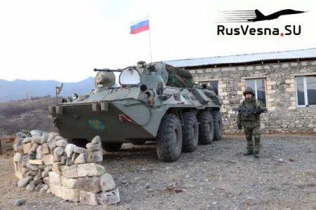 Путин прокомментировал работу российских миротворцев вКарабахе