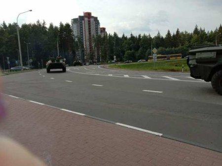 Водомёты наготове: Минск готовится к противостоянию (ФОТО, ВИДЕО)