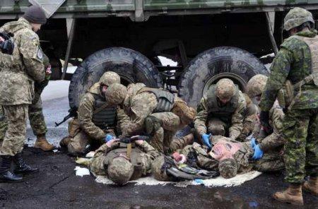 «Это мало»: Главком ВСУ назвал потери украинской армии за время перемирия на Донбассе