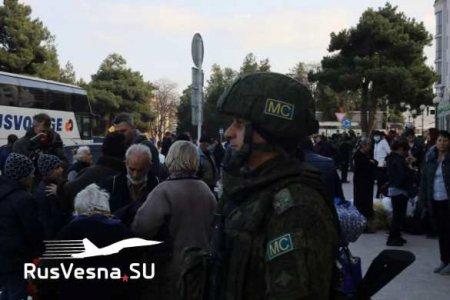 Карабах: Русский генерал обратился к детям (ФОТО, ВИДЕО)
