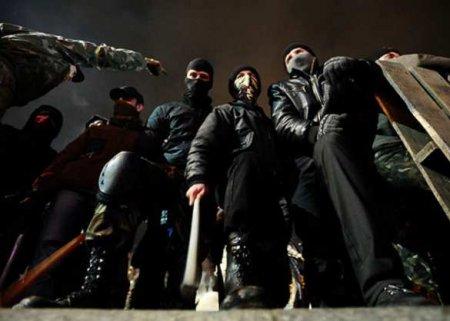 Ушли под асфальт: что показали акции на годовщину Майдана (ВИДЕО)