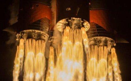 Запуск корабля SpaceX для полётов на Марс сорвался за секунду до старта (ВИДЕО)