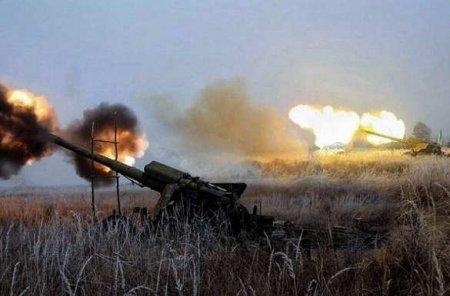 МОЛНИЯ: Каратели нанесли массированный удар поГорловке