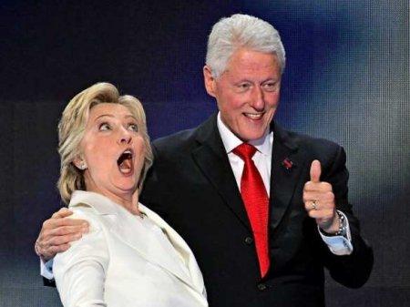 Хиллари Клинтон «попрыгала» на политическом трупе Трампа (ФОТО)
