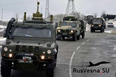 Страшная авария: УАЗ сорвался с обрыва на глазах российских военных в Карабахе (ФОТО)