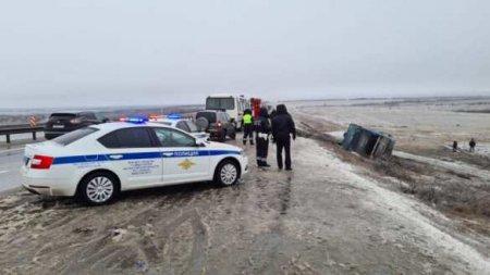 Автобус Москва — Донецк вылетел с трассы «Дон», есть погибшие (ФОТО, ВИДЕО)