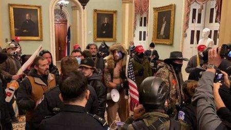 В штурме Капитолия в США принимал участие украинский «кiборг» (ФОТО)