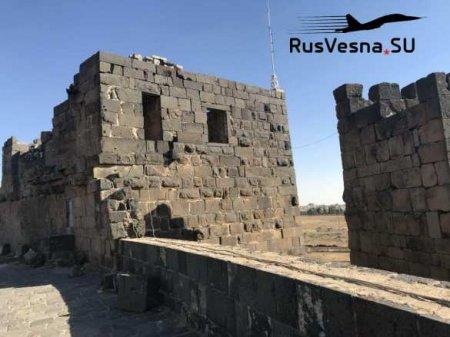 Древняя крепость: освобождённые ВКС РФ земли Римской и Византийской империй (ФОТО)