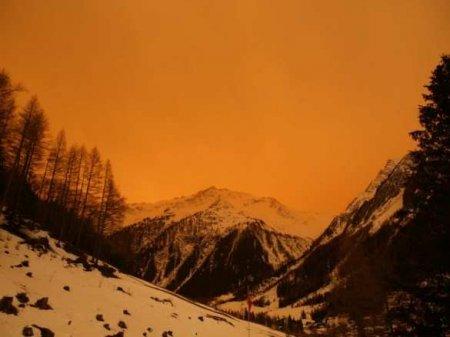 Дыхание Сахары: Европу окутала оранжевая мгла (ФОТО, ВИ ...