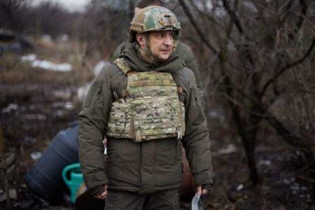 Глава Офиса Зеленского рассказал, что президент Украины делал на линии сопр ...