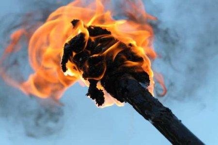Радикалы устроили факельное шествие вцентре Еревана (ВИДЕО)