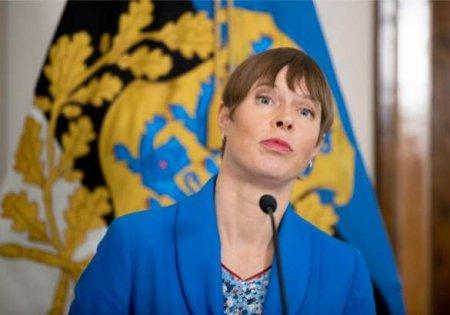 «Вакцинируйтесь, препарат похож нароссийский»: президент Эстонии обратилась кгражданам нарусском языке (ВИДЕО)