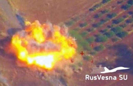 СРОЧНО: бойня в Сирии — враг нанёс страшный удар, ВКС России мгновенно отом ...