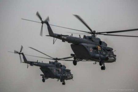 Десятки российских боевых вертолётов рядом с украинской границей: в Киеве сделали заявление (ВИДЕО)