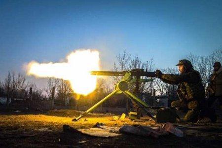 Ожесточённый бой на фронте ЛНР: подробности (ВИДЕО)