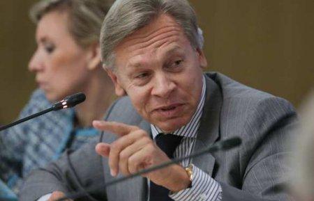 «Разве неклоун?» Пушков высмеял разочаровавшегося вГермании посла Украины