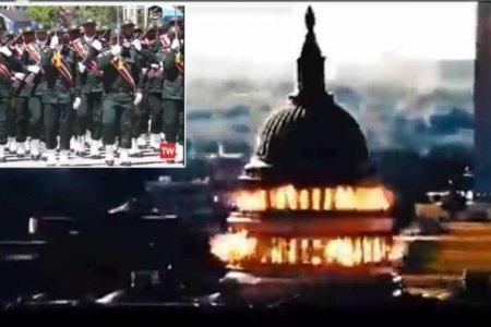 ГосТВ Ирана показало кадры «взрывающегося» Капитолия США (ВИДЕО)